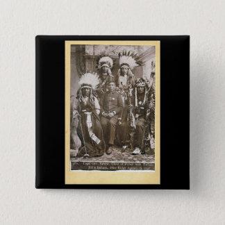 Buffalo Bill's Indians 1890 Button