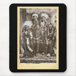 Buffalo Bill's Indians 1890 Mouse Pad