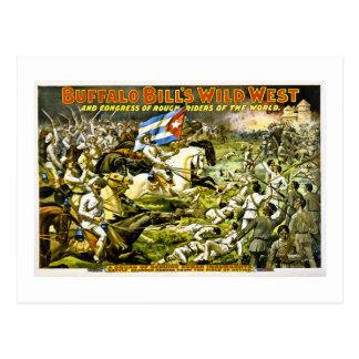 Buffalo Bill's Wild West 1898 Postcard