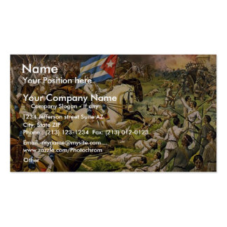 Buffalo Bill's wild west and congress of rough rid Double-Sided Standard Business Cards (Pack Of 100)