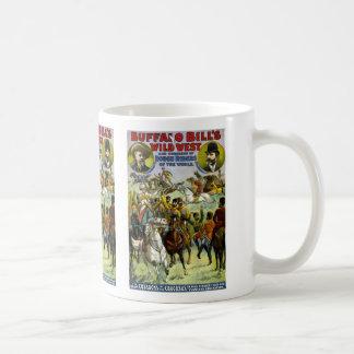 Buffalo Bill's wild west and congress of rough rid Coffee Mug