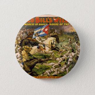 Buffalo Bill's Wild West Button