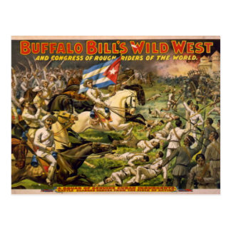Buffalo Bill's Wild West Postcard
