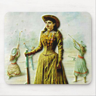 Buffalo Bill's Wild West Poster Annie Oakley Mouse Pad