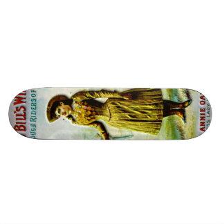 Buffalo Bill's Wild West Poster Annie Oakley Skateboard Deck