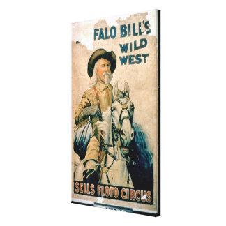 'Buffalo Bill's Wild West', Sells Floto Circus (co Canvas Print