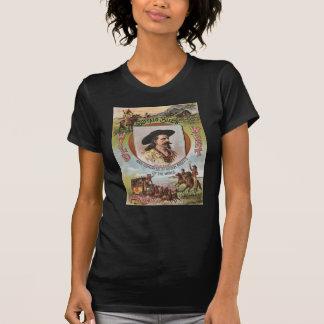 Buffalo Bill's Wild West Show 1893 Vintage Ad T-Shirt