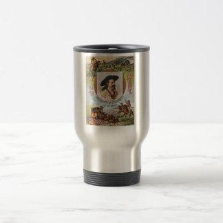 Buffalo Bills Wild West Show 1893 Vintage Ad Travel Mug