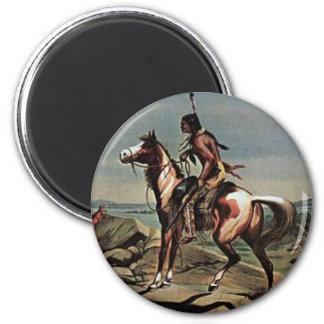 Buffalo Bills Wild West Show 2 Inch Round Magnet