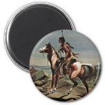 Buffalo Bills Wild West Show Fridge Magnets