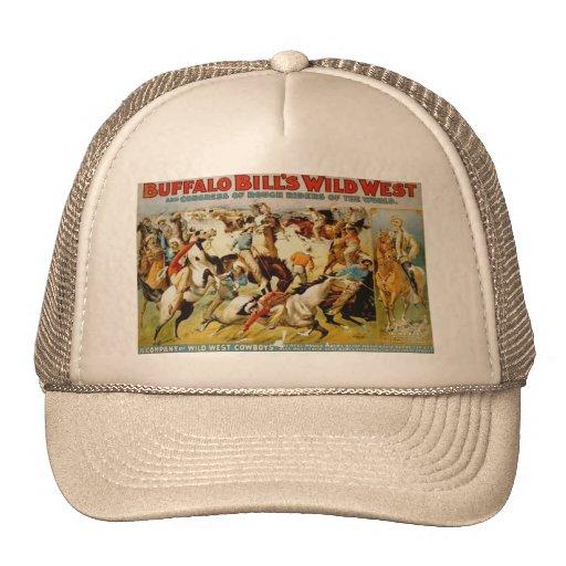 Buffalo Bill's Wild West Show Mesh Hat