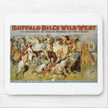 Buffalo Bill's Wild West Show Mouse Pad