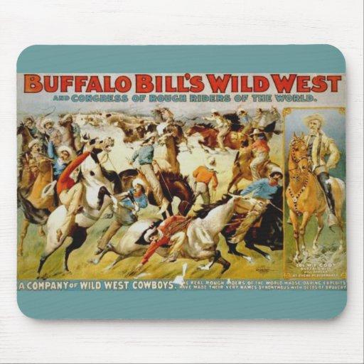 Buffalo Bill's Wild West Show Mousepads