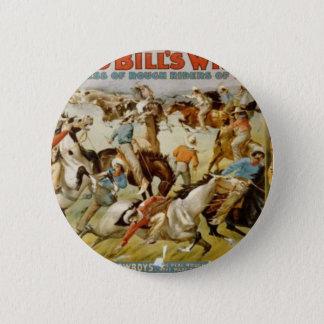 Buffalo Bill's Wild West Show Pinback Button