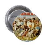 Buffalo Bill's Wild West Show Pinback Buttons