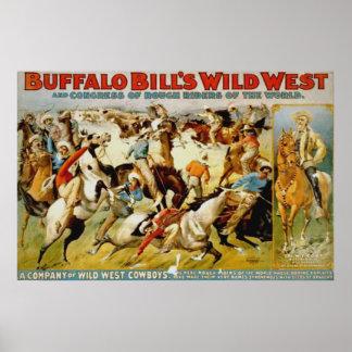 Buffalo Bill's Wild West Show Print