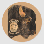 Buffalo Bill's Wild West Show vintage 1898 Classic Round Sticker