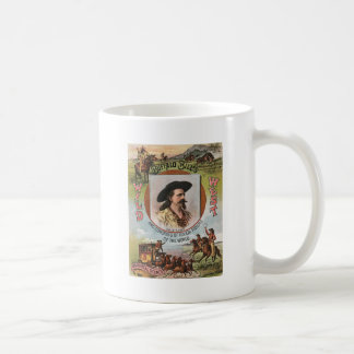 Buffalo BillsWild West Show 1893 Vintage Ad Classic White Coffee Mug