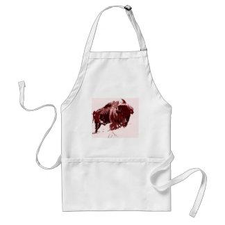 Buffalo - Bison Adult Apron