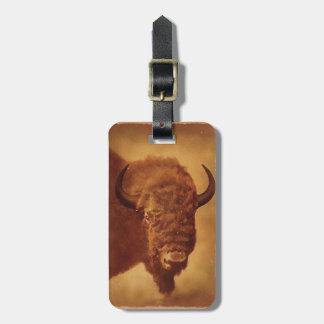 Buffalo / Bison Bag Tag