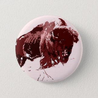 Buffalo - Bison Button