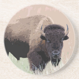 Buffalo / Bison Drink Coaster