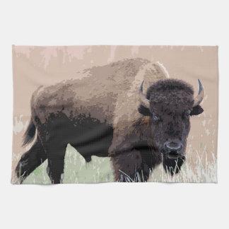 Buffalo / Bison Hand Towel