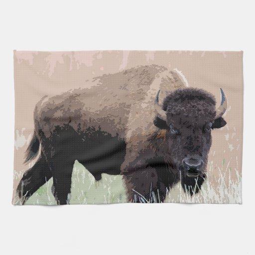 Buffalo / Bison Kitchen Towels