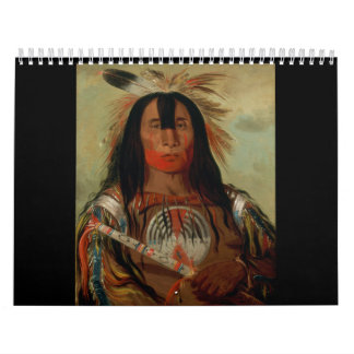Buffalo Bull's Back Fat Head Chief Blood Tribe Calendar