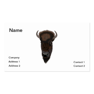 Buffalo Double-Sided Standard Business Cards (Pack Of 100)