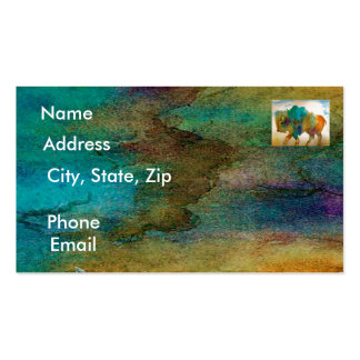 Buffalo Calling Cards Business Card