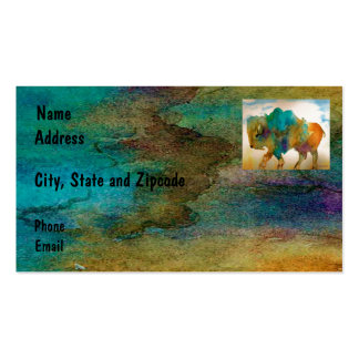 Buffalo Calling Cards Business Card Template