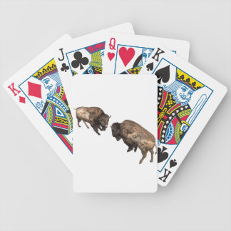 Buffalo Challenge Bicycle Playing Cards