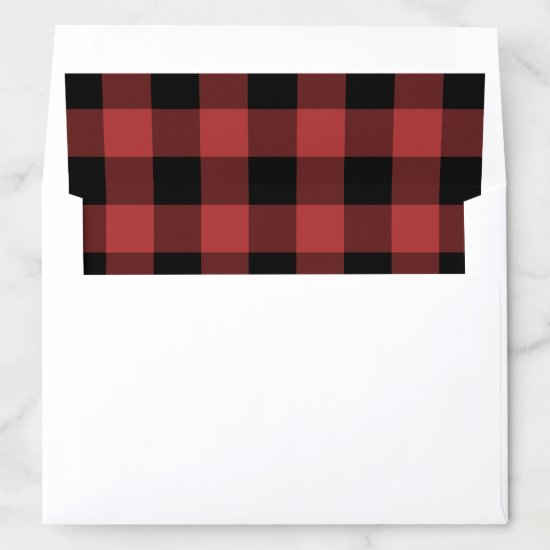 Buffalo Check Envelope Liner