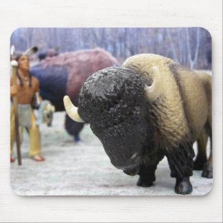 Buffalo Close Up Mousepads