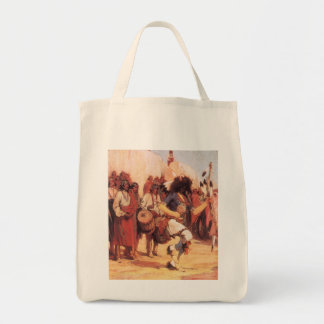 Buffalo Dance by Gerald Cassidy, Vintage Dancers Bags