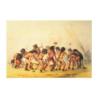 Buffalo Dance, c.1832 Canvas Print
