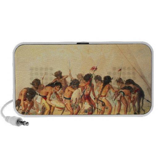 Buffalo Dance, c.1832 iPod Speaker