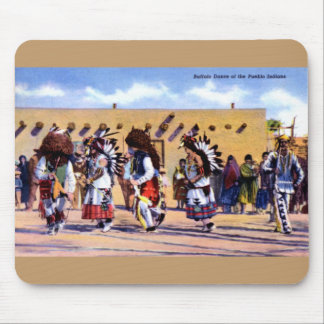 Buffalo Dance of the Pueblo Indians Mouse Pad