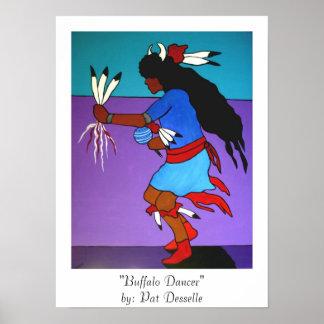 """Buffalo Dancer""  poster"
