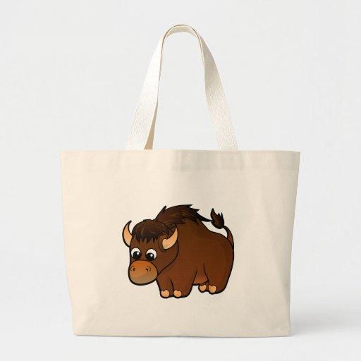Buffalo Design Large Tote Bag