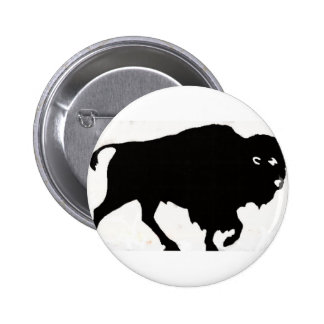 Buffalo Designs Pinback Button