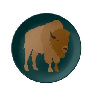 Buffalo Dinner Plate