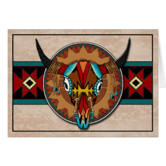 Buffalo Dream Greeting Card
