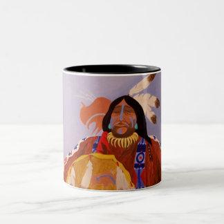 Buffalo Dreamer Two-Tone Coffee Mug