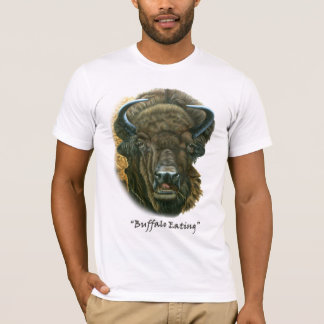 Buffalo Eating Light T-Shirt