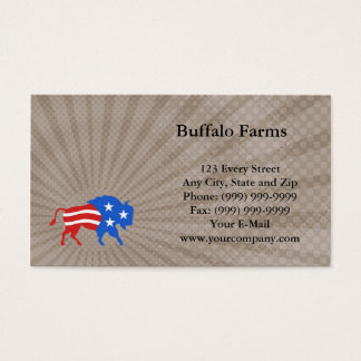 Buffalo Farms Business Card