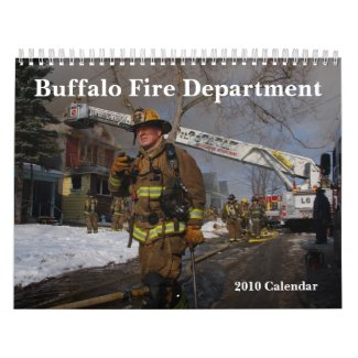Buffalo Fire 2010 Calendar calendar