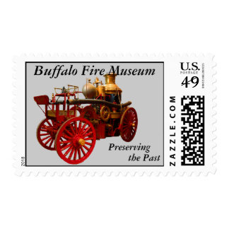 Buffalo Fire Museum Postage