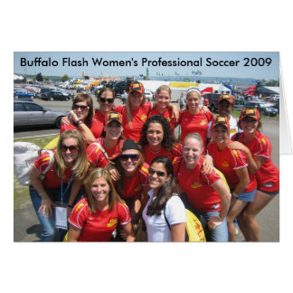 Buffalo Flash Birthday Card